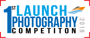 Launch Photography Contest Logo Vector