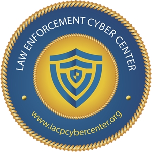 Law Enforcement Cyber Center Logo Vector