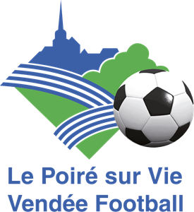 Le Poire-sur-Vie Vendee Football Logo Vector