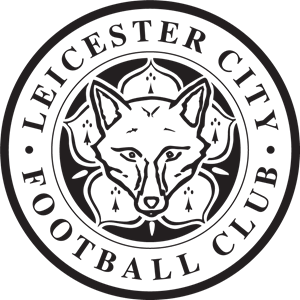 Leicester City Badge Black And White