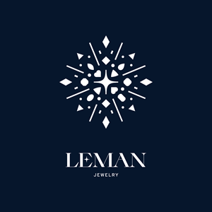 Leman Jewelry Logo Vector