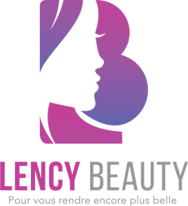 Lency Beauty Logo Vector