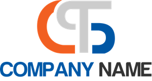 Letter C T clinical Logo Vector