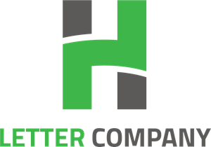 Letter H Company Logo Vector