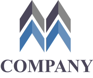 Letter M company Logo Vector
