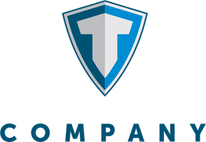 Letter T Shield Logo Vector