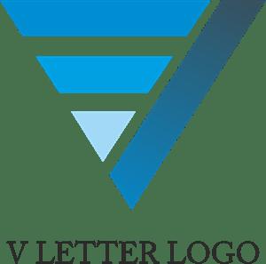 Letter V Design Logo Vector