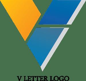 letter v logo vectors free download