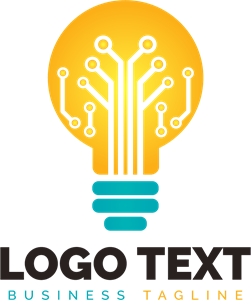 Light bulb Logo Vector