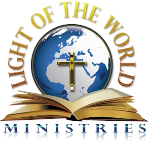 light of the world ministries Logo Vector