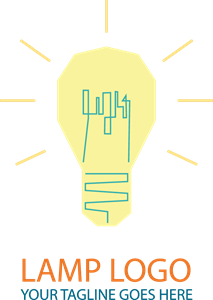 Lightbulb Logo Vector