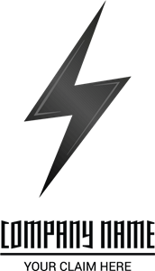 Lightning Logo Vector