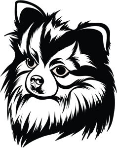 line art Pet Logo Vector