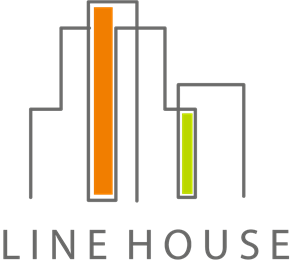 Line House Logo Vector