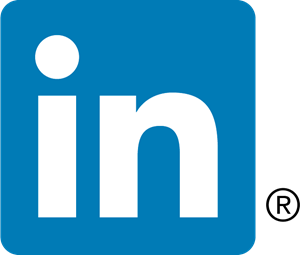 LinkedIn [in] icon Logo Vector