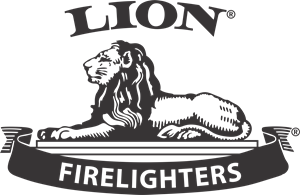 Lion Firelighters Logo Vector