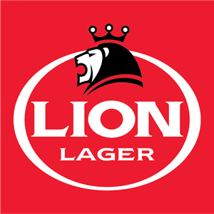 Lion Lager Logo Vector