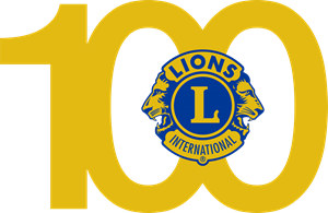 Lions Clube 100 anos Logo Vector