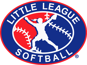 Little League Softball Logo Vector