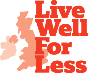 Live Well For Less Logo Vector