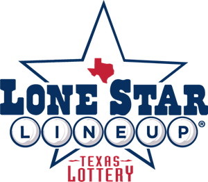 Lone Star Lineup by Texas Lottery Logo Vector