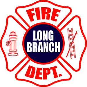 Long Branch Fire Department Logo Vector