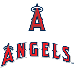 Los Angeles Angels of Anaheim Logo Vector