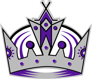Los Angeles Kings Hockey Logo Vector