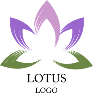 Lotus Art Inspiration Logo Vector