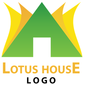 Lotus House Logo Vector