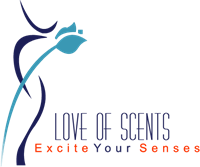 Love of Scents Logo Vector