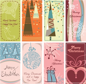 lovely christmas background Logo Vector