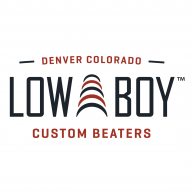 Low Boy Custom Beaters Logo Vector