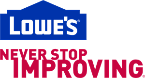Lowes - Never Stop Improving Logo Vector