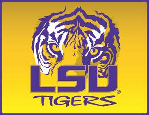 lsu tigers logo vector (.eps) free download  seeklogo