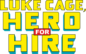 LUKE CAGE HERO FOR HIRE COMIC Logo Vector