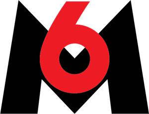 M6 TV Logo Vector