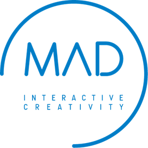 MAD Interactive Creativity Logo Vector