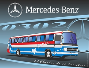 MERCEDES BENZ 0302 Logo Vector