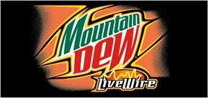 MOUNTAIN DEW LIVE WIRE Logo Vector