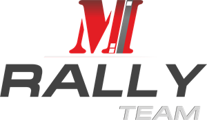 M Rally team Logo Vector