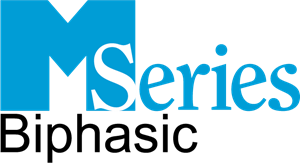 M Series Biphasic Logo Vector