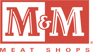 M&M Meat Shops Logo Vector