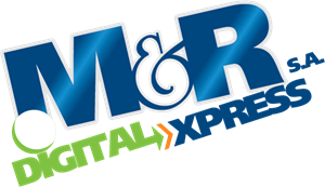 M&R DIGITAL XPRESS Logo Vector