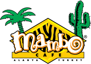 Mambo Restaurant Cafe Bar Logo Vector