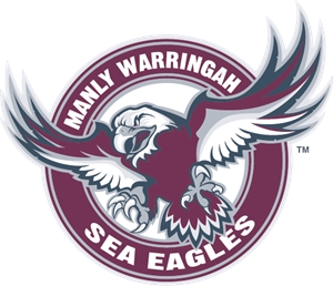 Manly Warringah Sea Eagles Logo Vector