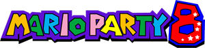 Mario Party 8 Logo Vector