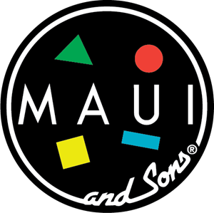 Maui & Sons Logo Vector