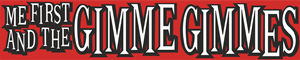 Me First and the Gimme Gimmes Logo Vector