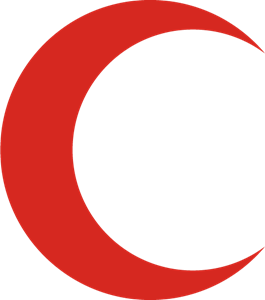Media Luna Roja Logo Vector